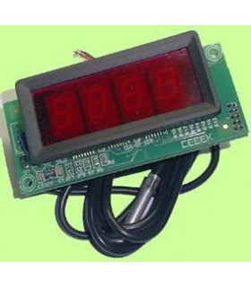 "I-86.1 - Termostato com Display 1"" 12Vdc - I-86.1"