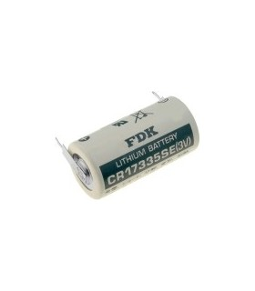 Pilha de Lithium 3V 2/3A com Pinos - 169CR17335CP