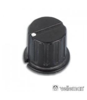 KN246BP - Botao Preto Com Ponto Branco 24.5x6mm - KN246BP