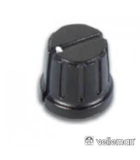 KN153BP - Botao Preto Com Linha Branca 15.5x3mm - KN153BP