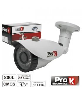 """CVC028LA - Camera Vigilancia Cmos Cores 800L 1/3"""" - CVC028LA"""