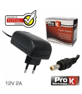 FAS12V2A - Alimentador Switching 12V 2A - FAS12V2A