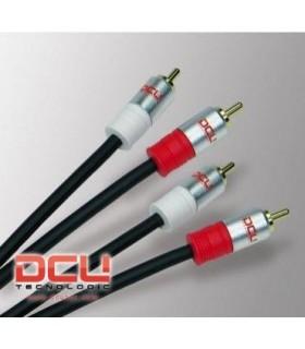 DCU30201050 - Cabo Audio 2 RCA M/M 5mt Profissional - DCU30201050