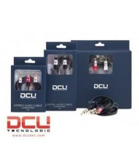 DCU30701230 - Cabo Audio 3.5 St M / 2 RCA M 2mt Profissional - DCU30701230