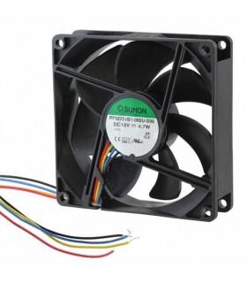 Ventilador 12V DC 92x92x25mm 4.7W 4 fios - PF92251B1-000U-S99