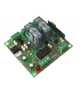 TL-615 - Receptor 2 Canais 12Vdc - TL-615