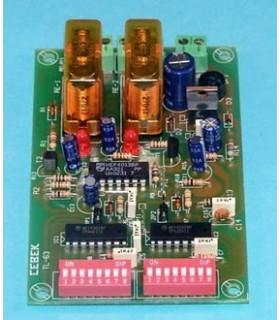 TL-63 - Receptor 2 Canais Biestavel Via Cabo - TL-63