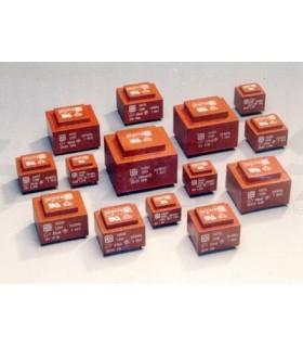 Transformador Isolado In:230Vac Out 2x 0-12V 12Vas - T2012D12CI