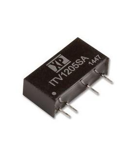 ITV0505S - DC/DC Converter, Fixed, 2 Output, 4.5 V, 5.5 V - ITV0505S