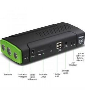Carregador Multifunções USB + Arrancador 12V 16.800mAh - MFSP12V