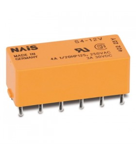 S412V - Rele 12VDC 720R 200mW - S412V