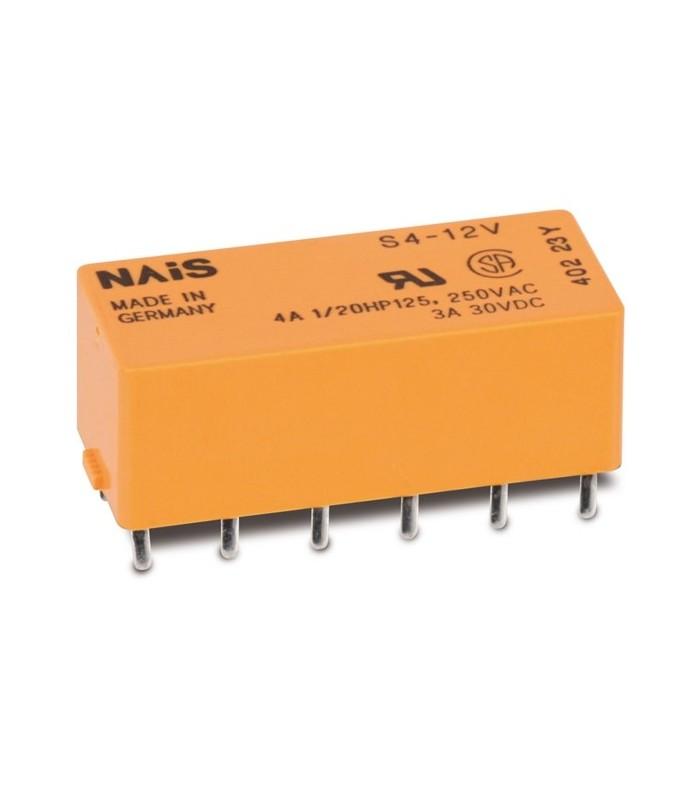 S412V - Rele 12VDC 720R 200mW