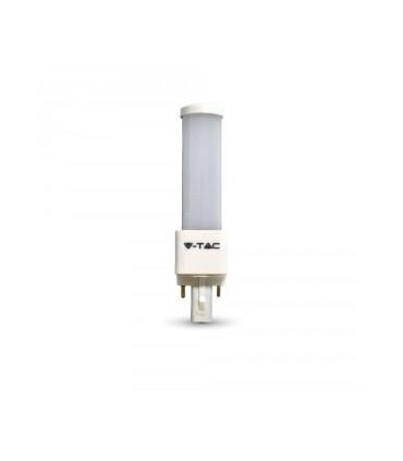 Lampada Casquilho G24 6W 3000K 480Lm - VT7210