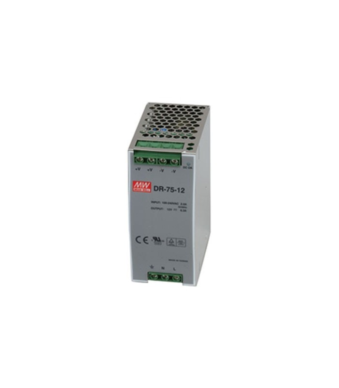 Input 85-264 VAC Output 12VDC 6.3A 76W