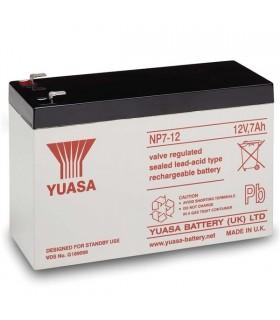 Bateria Gel Chumbo Yuasa 12V 7A - 98x65x151mm - 1270Y