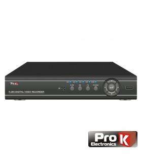 DVR08DK - Gravador Digital 8 Canais Quad H264 Ethernet - DVR08DK