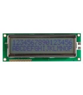 LCM-S01602DSR/D - Display LCD 16X2, Amarelo/Verde 5V - LCM-S01602DSR
