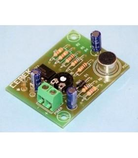 Pre-Amplificador Com Microfone De Eletreto - PM3