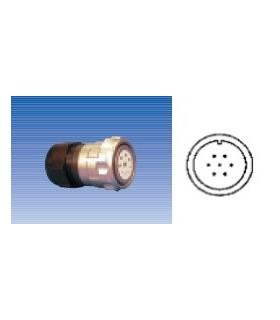 Ficha Multipolar 10mm Femea 7 Pinos Para Cabo - 920117P000SD
