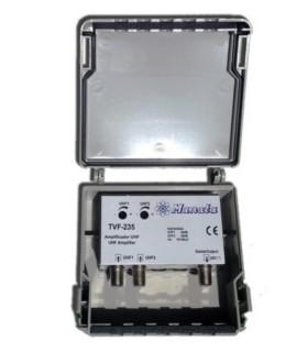 TVF235 - Amplificador de Mastro 2x UHF - TVF235