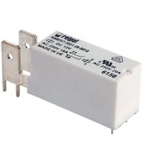 RM85V7-3021-20-S012 - Rele 12V SPST-NO, terminais - RM85V7302120S012