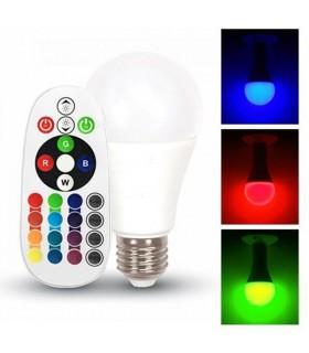 Lampada LED 6W RGB A60 Neutral White - VT2022-7150
