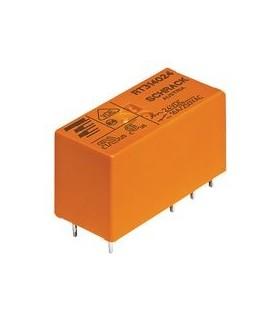 RT114024 - Rele 24V 12A 1 Inversores - RT114024