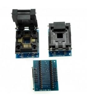 Adaptador PLCC32 para DIP32 facil insercao - PLCC32DIP32PRO