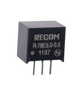 R-78E5.0-0.5 -  Non Isolated POL DC/DC Converter 5V 2.5W - R-78E5.0-0.5