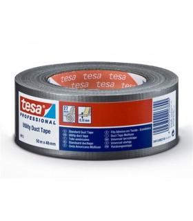 Fita em tecido 15mm, 25mt preta - TESA - MX0960820