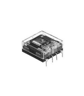 NC2DJP24VDC - Rele 24Vdc 5A DpDt Horizontal - MXNC2DJP24VDC