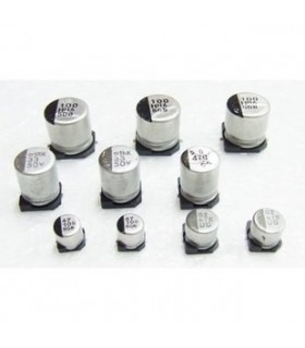 Condensador Electrolitico 180uF 25V Smd - 3518025D