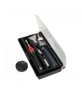 Kit Mini Ferro Soldar a Gas 80w 1300º - DNMT1000K