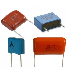 Condensador Poliester 1.8nF 100Vdc - 3161.8100