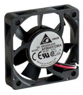 Ventilador Delta 12V 45x45x10mm 1.32W - AFB04512MA