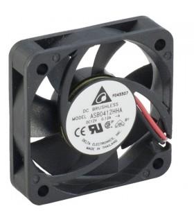 Ventilador Delta 12V 40x40x10mm 0.72W - ASB0412HHAA
