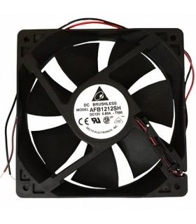 Ventilador Delta 12V 120x120x25mm 6.36W - AFB1212SH