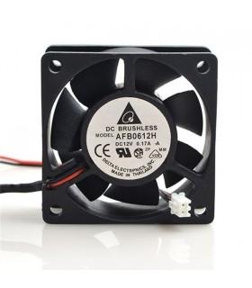 Ventilador Delta 12V 60x60x25mm 1.68W - AFB0612HA