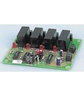 Sequenciadora De 4 Canais C/ Rele - I5 - CEBEK - I5