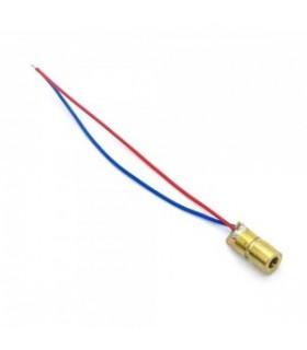 Modulo Laser Vermelho 5mW 5V - LASER5MW