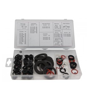 Kit de Anilhas Estanques Com 125 Unidades - HAS01