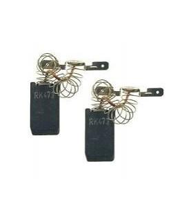 Escova carvao 5X15X27mm Par Miele - EC5X15X27