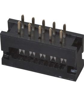 Ficha Idc Flat Cable CI 10 Pinos - IDC10CI
