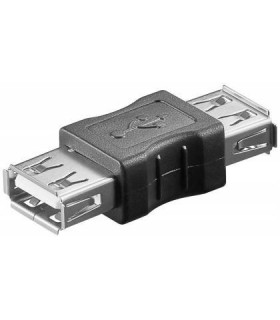 Adaptador 2.0 USB A Fêmea - USB A Fêmea - MX50293
