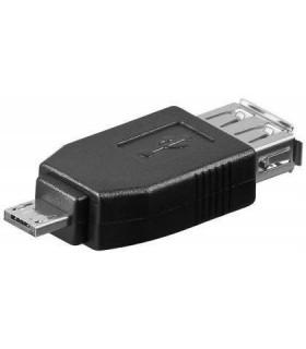 Adaptador 2.0 USB A Fêmea - Micro USB A Macho - MX95190