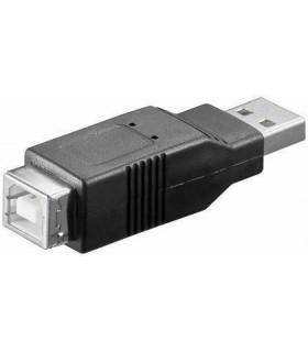 Adaptador 2.0 USB A Macho - USB B Fêmea - MX33339
