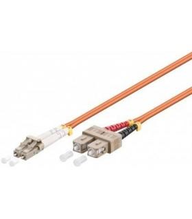 Cabo Fibra Optica Multimode LC/SC 2mts - MX96142