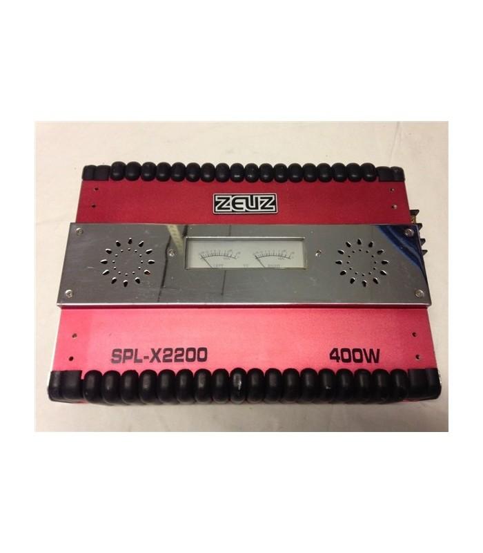 Amplificador Car-Audio 2X200W