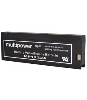 MP1222A - Bateria Gel Chumbo 12V 2Ah - MP1222A
