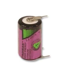 Pilha Litio 3.6V 1/2AA Circuito Impresso Tadiran - 169SL550PT